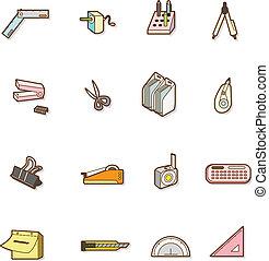 stationery, carino, cartone animato