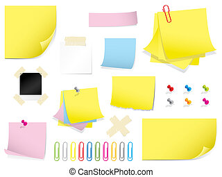 Stationery collection - Large set of stationery items. ...