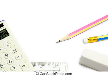 stationery concept back to school