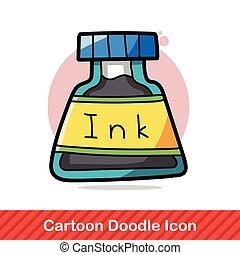 stationery ink color doodle