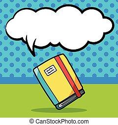 stationery notebook doodle
