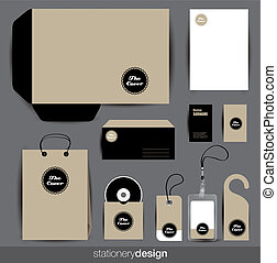 stationery, progetto serie