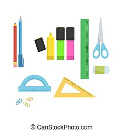 Stationery supplies for office
