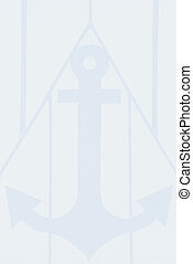 stationery with anchor