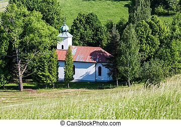 Stations of the cross way in Ruzomberok, Slovakia