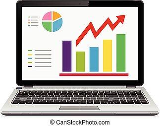 Statistic analysis on modern laptop screen
