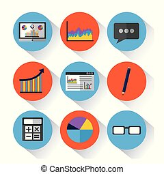 statistic data tools finance diagram and graphic chart business
