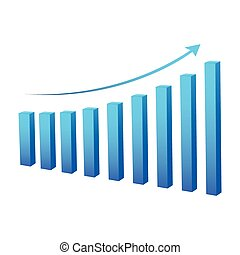statistic graph business data