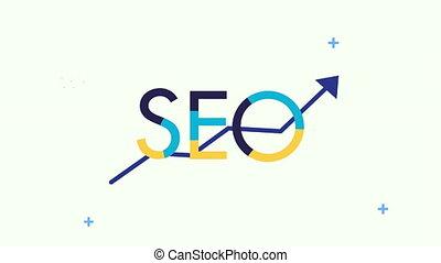 statistics arrow search engine optimization