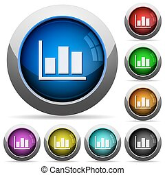 Statistics button set