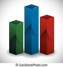 statistics design - statistics graphic design , vector...