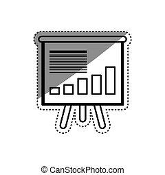 Statistics graphic report