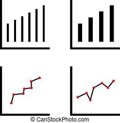 Statistics Icon, Analysis