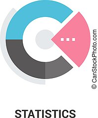 statistics icon concept