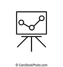 Statistics monitoring icon