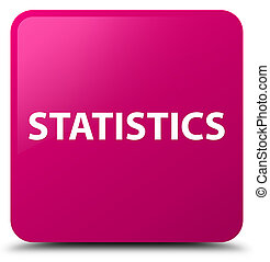 Statistics pink square button