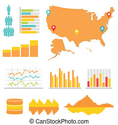 statistik, infographics