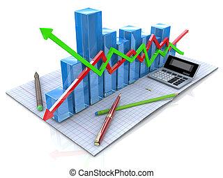 statistiques, impôt, business, recherche, analytic, nouveau, plan, comptabilité