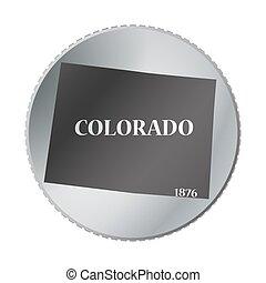 statliga colorado, mynt