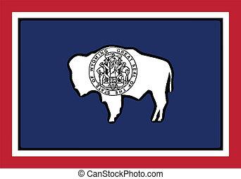 stato, bandiera wyoming