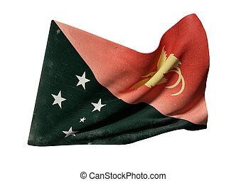 stato indipendente papua guinea nuova, bandiera