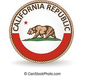 stato, sigillo california