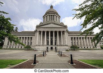 stato washington, capitale, legislativo, costruzione, 2