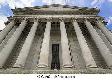 stato washington, capitale, legislativo, costruzione