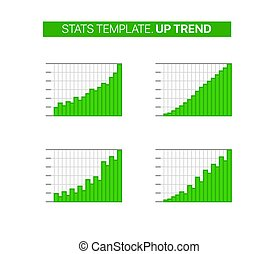 Stats vector template. Up trend