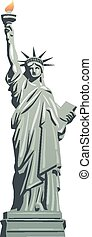 statua, libertà