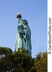 statua swobody, miasto nowego yorku