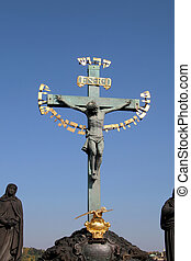 Statuary of the Holy Crucifix an Calvary
