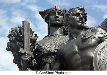 Statue, Battery Park