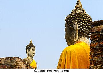 Statue buddha ancient