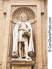 Statue in Alcove of Church