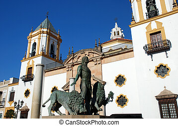 Cathedral in Ronda, Spain