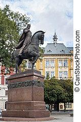 Statue in Lviv
