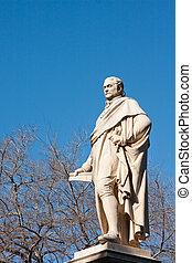 Statue in National Garden