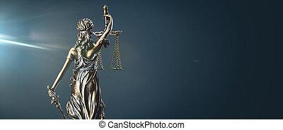statue, justice dame