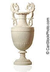 statue of ancient amphorae