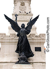Statue of angel with cross(Portugal) - Simbol of Portugal ...