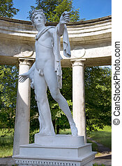 statue of Apollo Belvedere in Pavlovsk Park, Saint Petersburg
