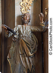 Statue of apostle St Peter