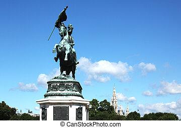 Statue of Archduke Charles Vienna