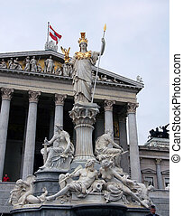 Statue of Athena in Vienna