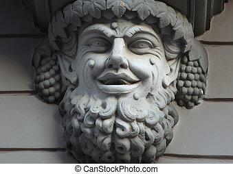 Statue of Bacchus (Dionysus)