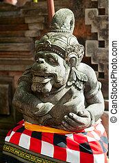 Statue of Balinese demon