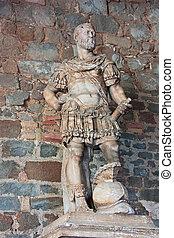 statue of Cosimo de Medici - antique italian statue of the...