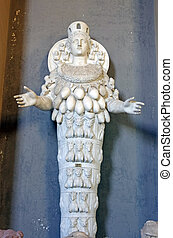 Statue of Cybele - Goddess of Fertility, Vatican Museum