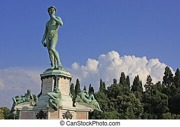 Statue of David by Michelangelo, Florence, Italy